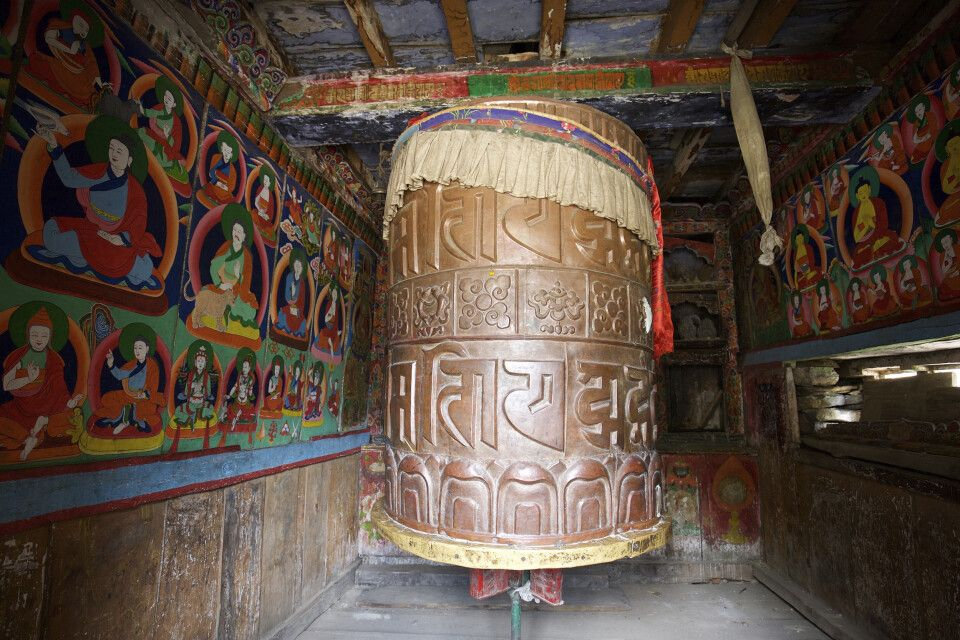 Große Gebetsmühle