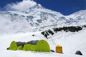 Manaslu Base Camp