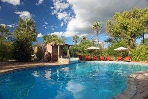 Nata Lodge: Poolbereich