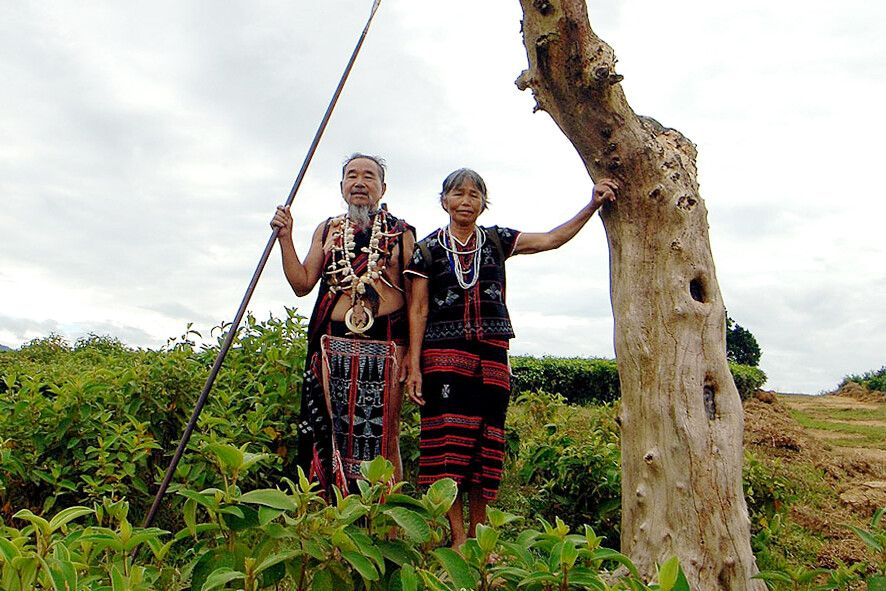 In der Heimat der ethnischen Minderheit der Katu