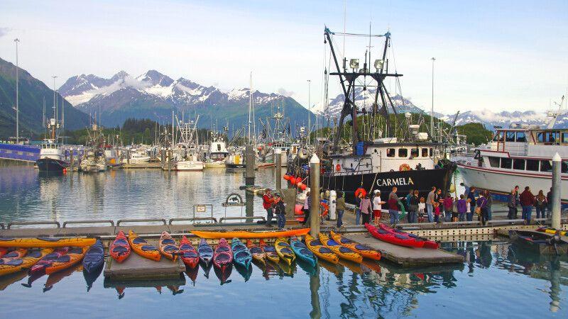 Im Hafen von Valdez © Diamir