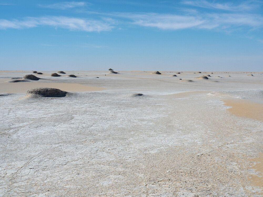 Landschaftszene im Tschad