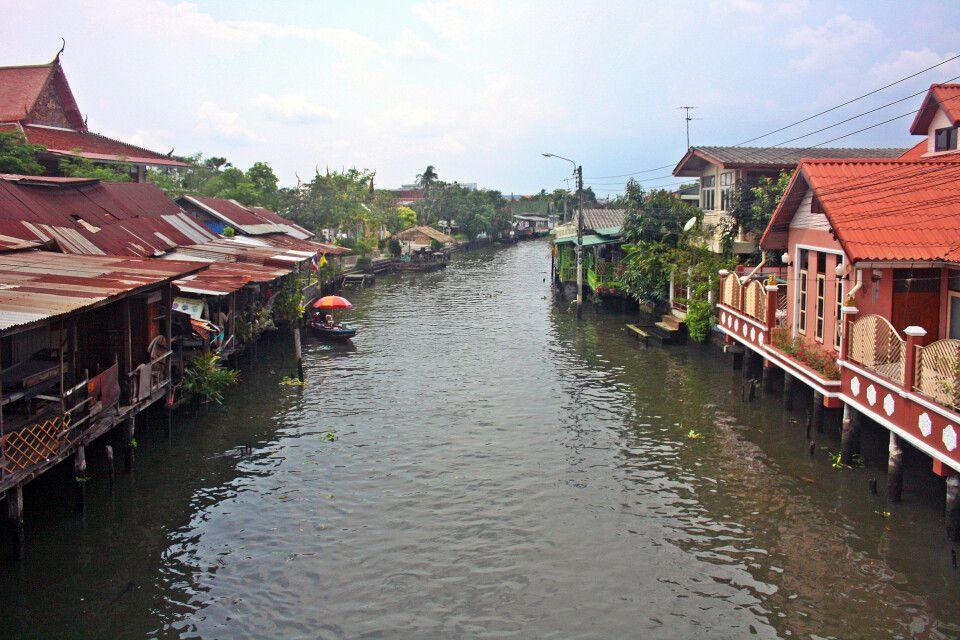 Khlong in Bangkok