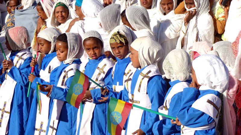 Timkat-Fest in Äthiopien © Diamir