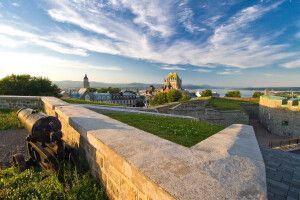 La Citadelle und Chateau Frontenac, Quebec