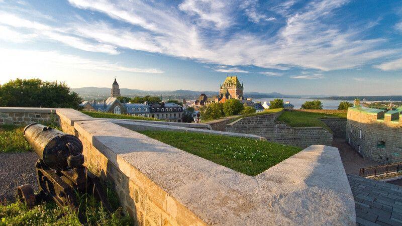 La Citadelle und Chateau Frontenac, Quebec © Diamir