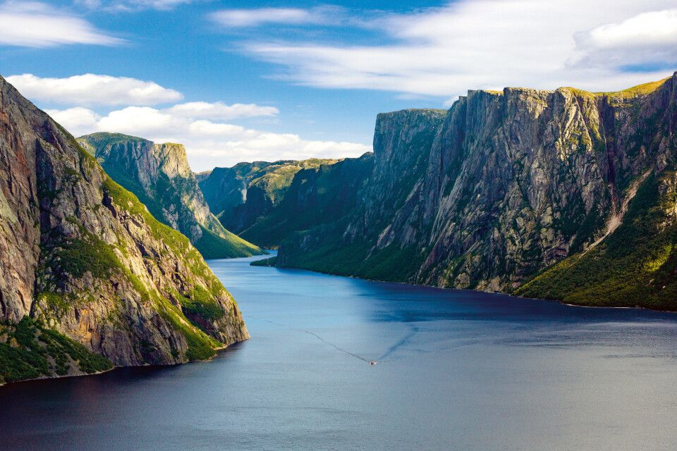 Western Brook Pond, Gros Morne NP