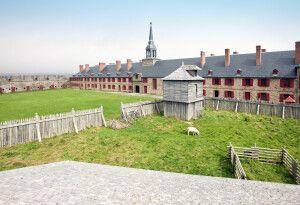 Festung Louisbourg, Cape Breton