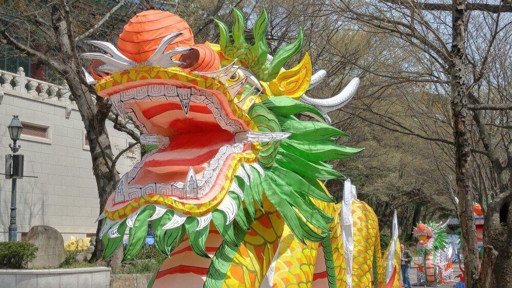 Korea Drachenfigur