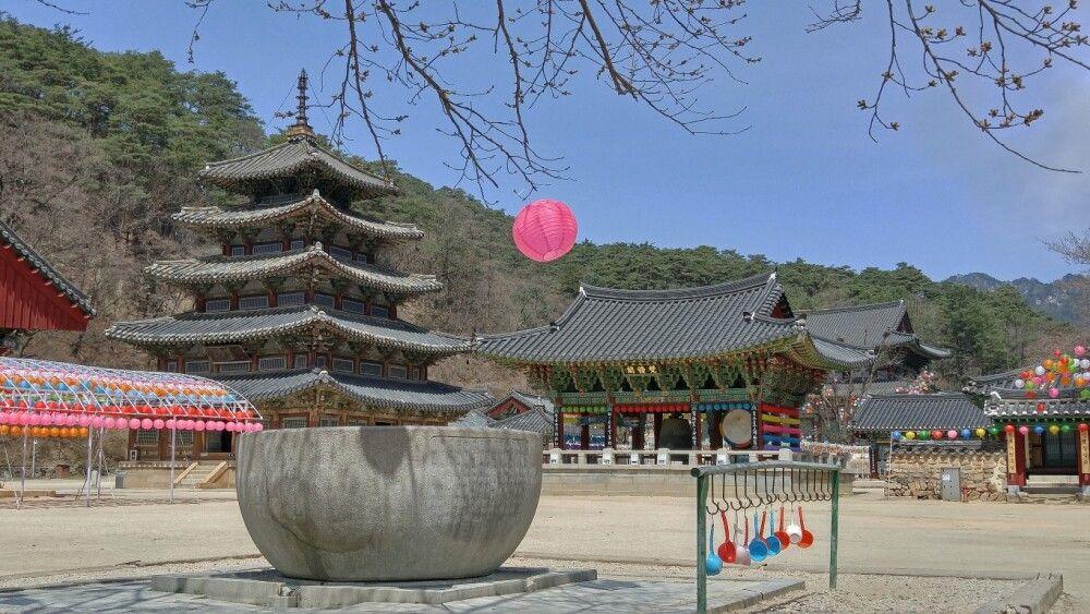 Korea Buddhistisches Kloster