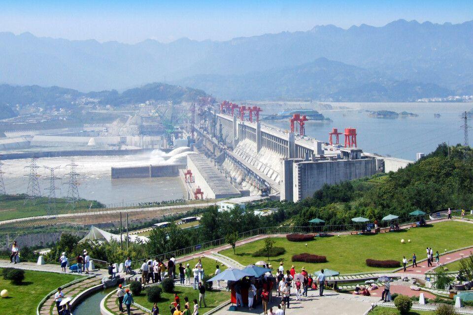 Drei Schluchten Staudamm