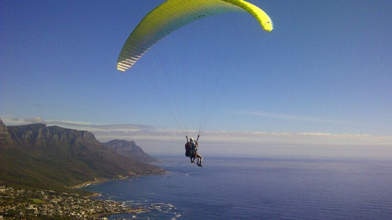 Paragliding  in Wilderness an der Garden Route © Diamir