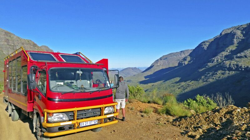 Zederberge Safaritruck, Sunway Safaris © Diamir