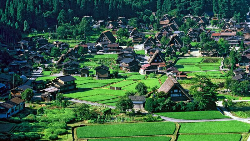 Shirakawago – ländliches Japan © Diamir