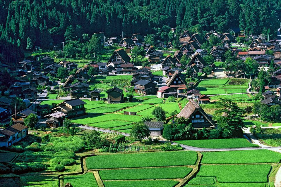 Shirakawago – ländliches Japan