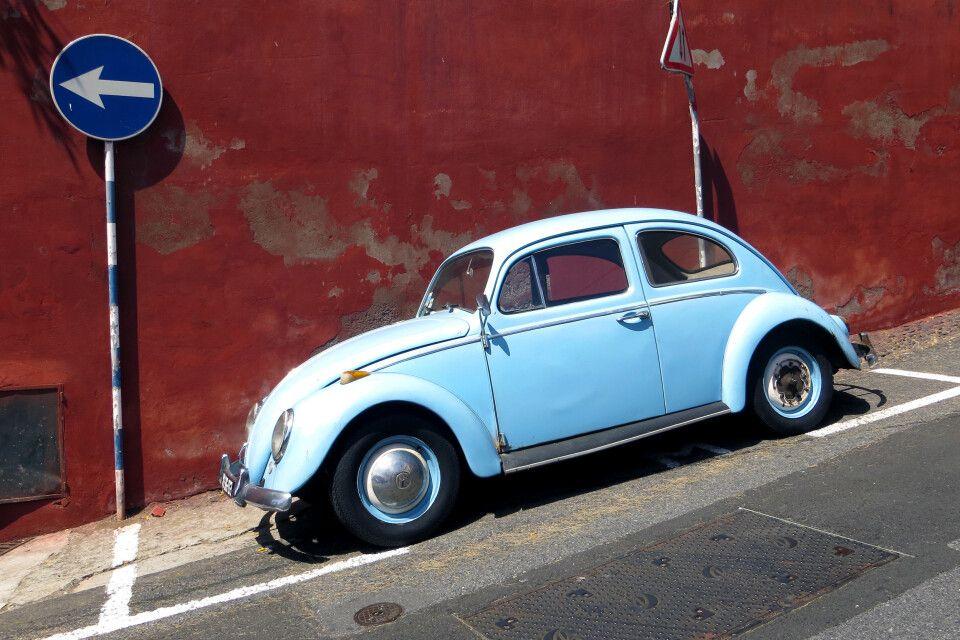 Madeira-Straßenszene