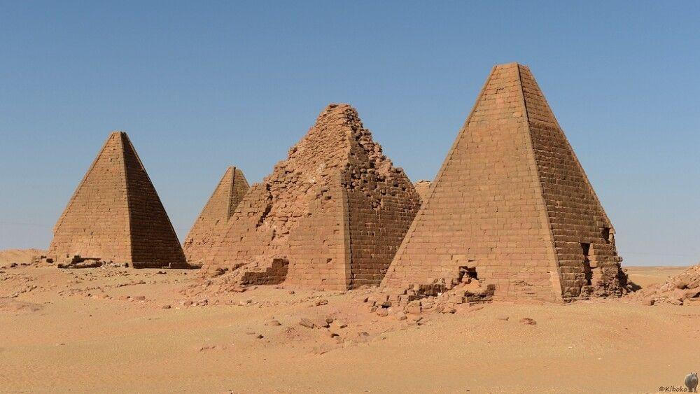 5. Pyramiden bei Karima