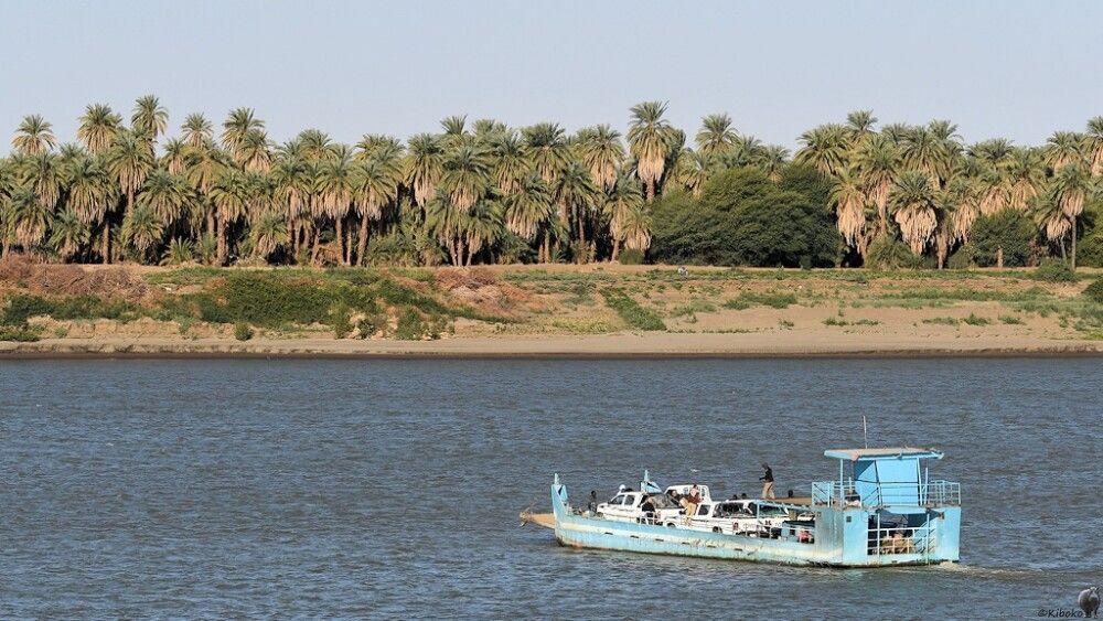 18. Nilfähre bei Delgo
