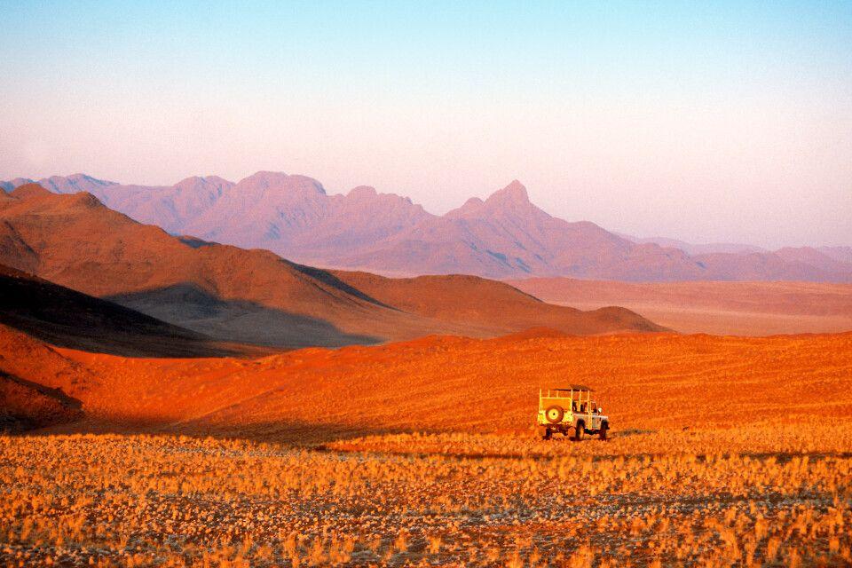 Wolwedans Dunes Lodge, unterwegs in der Wüste