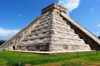 Maya-Tempel Chichen Itza, Mexiko