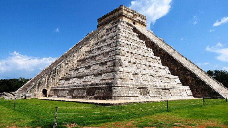 Maya-Tempel Chichen Itza, Mexiko © Diamir