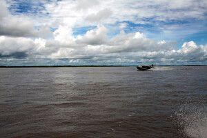 Speedboottour über den Amazonas