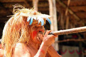 Traditionen der Yagua Gemeinschaft