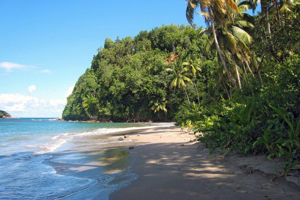 Traumstrand auf Dominica