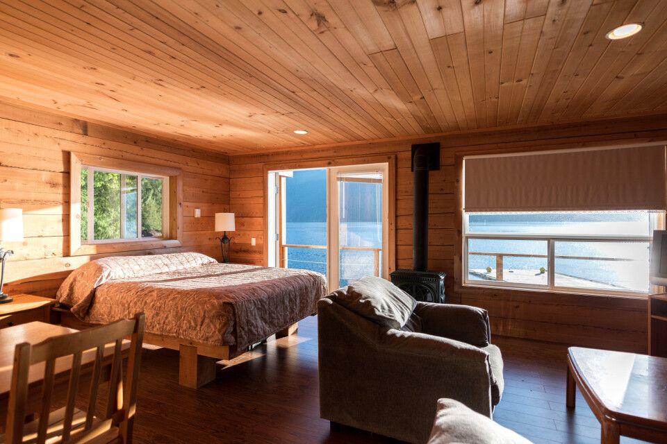 Homfray Lodge, Zimmerbeispiel