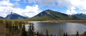 Panorama Vermilion Lakes, Banff National Park