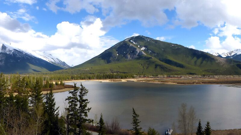 Panorama Vermilion Lakes, Banff National Park © Diamir