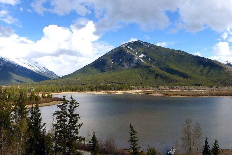 Panorama Vermilion Lakes, Banff National Park