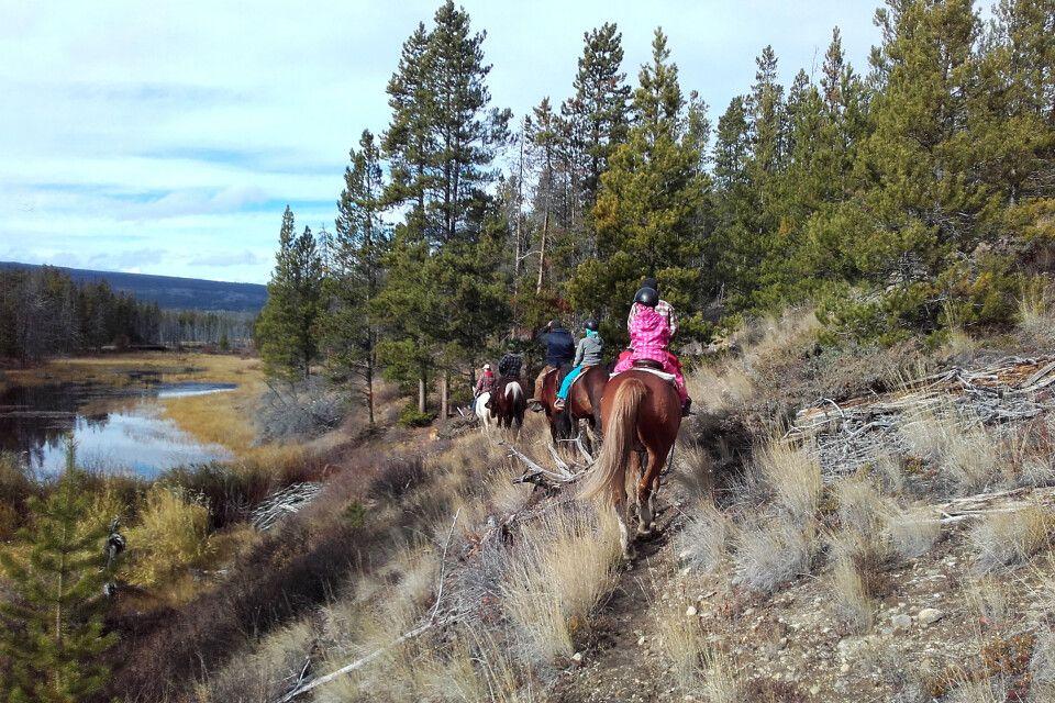 Reitausflug von der Terra Nostra Guest Ranch