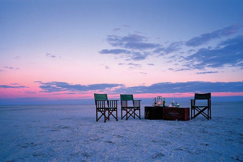 Makgadikgadi-Salzpfannen, Botswana