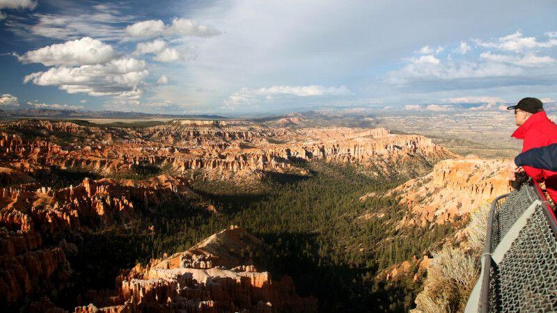 Blick über den Bryce Canyon, Utah © Diamir