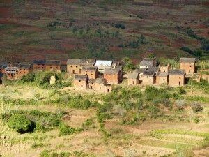 Im Hochland von Madagaskar