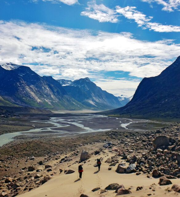 Auyuittuq National Park, Baffin Island
