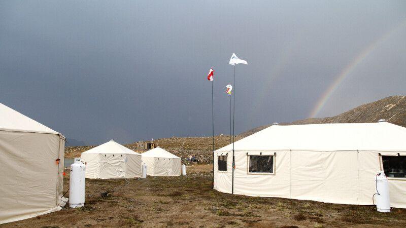 Camp auf Baffin Island © Diamir