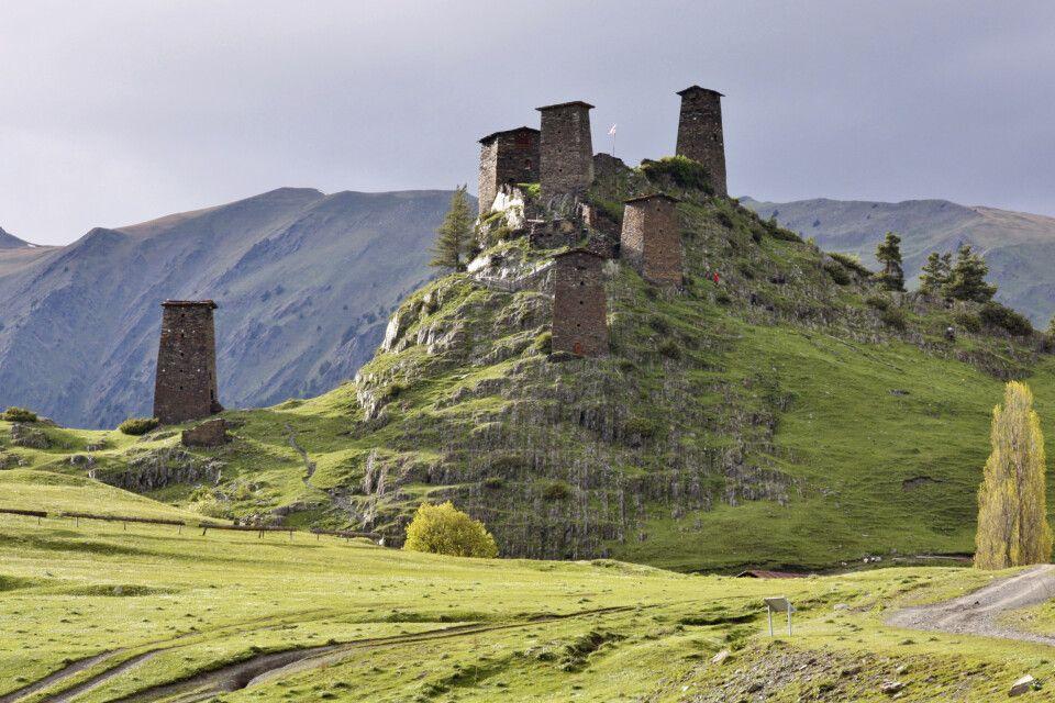 Omalo – mittelalterliche Festung Keselo
