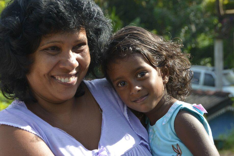 Das Lächeln der Inselbewohner