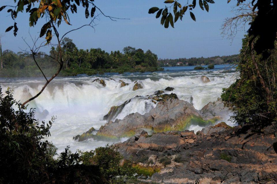 die größten Wasserfälle von Laos