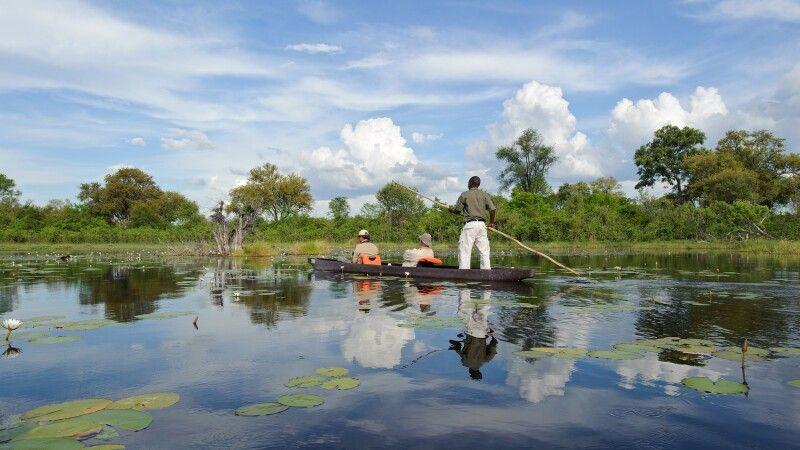 Im Mokoro durch das Okavango-Delta © Diamir