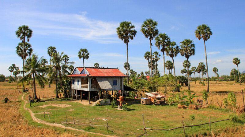 Typische ländliche Szene in Kambodscha © Diamir