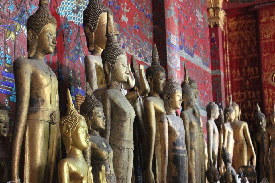 Im Wat Xieng Tong, dem schönsten Kloster des Landes