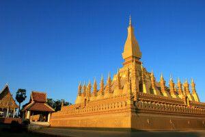 That Luang - Nationalheiligtum in Vientiane