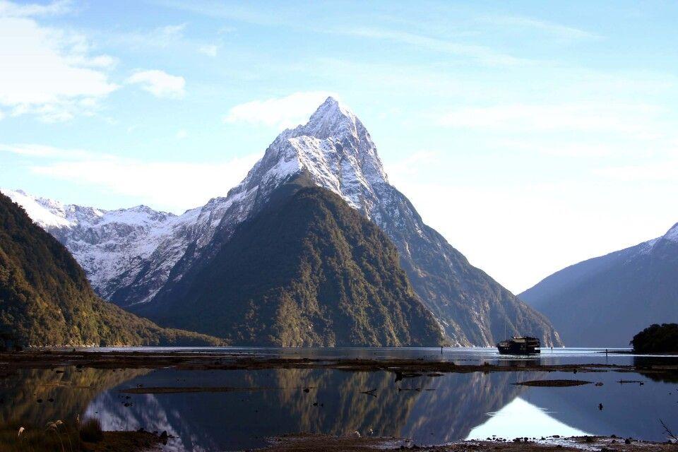 Der Mitre Peak im Milford Sound