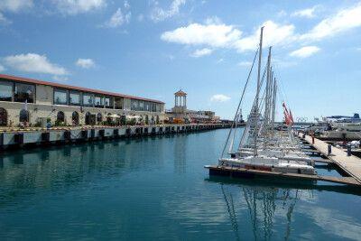 Hafen von Sotschi