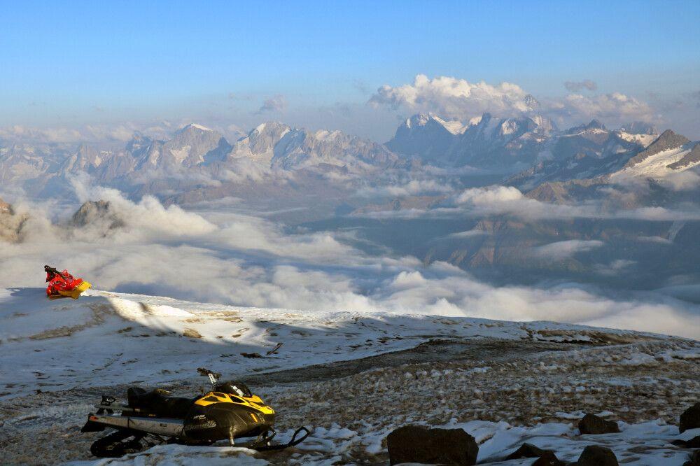 Abendstimmung am Elbrus