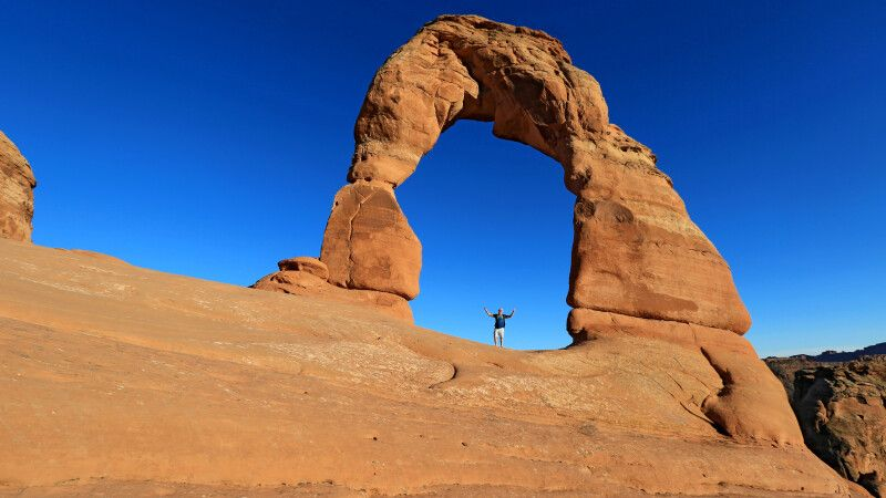 Delicate Arch, Arches National Park, Utah © Diamir