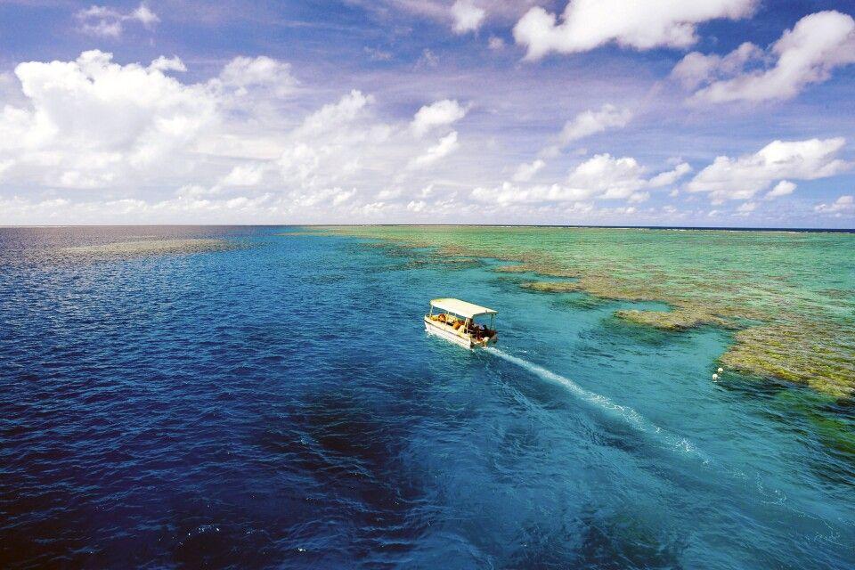 Great Barrier Reef Coral Princess I und II Mit dem Glasbodenboot unterwegs